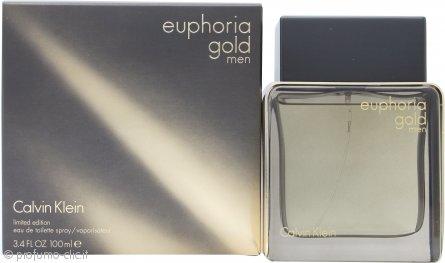 Calvin Klein Euphoria Gold Men Eau de Toilette 100ml Spray