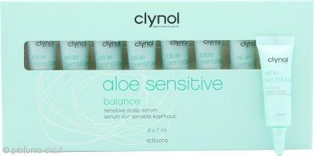 Clynol Aloe Sensitive Balance Scalp Serum 8x7ml