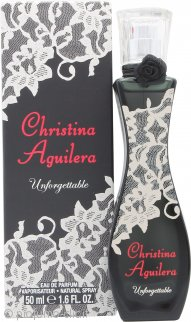 Christina Aguilera Unforgettable Eau De Parfum 50ml Spray