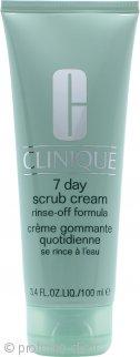 Clinique Exfoliators and Masks 7 Day Scrub in Crema Rinse-Off Formula 100ml