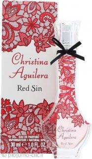 Christina Aguilera Red Sin Eau De Parfum 30ml Spray