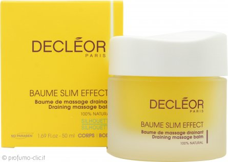 Decleor Baume Slim Effect Draining Massage Balm 50ml