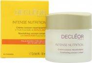 Decleor Intense Nutrition Nourishing Cocoon Cream con Olio Essenziale di Maggiorana 50ml Pelle Secca/Molto Secca