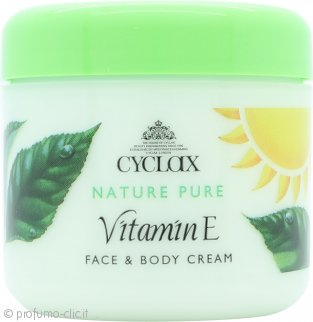 Cyclax Nature Pure Vitamin E Crema Viso & Corpo 300ml