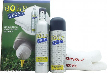 Dana Golf Sport Confezione Regalo 200ml EDT + 200ml Deodorante Spray + Telo Sportivo