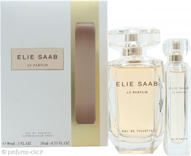 Elie Saab Le Parfum Confezione Regalo 90ml EDT Spray + 10ml EDT Mini