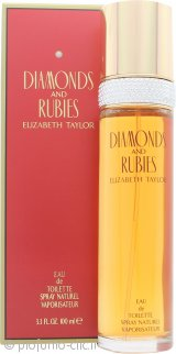 Elizabeth Taylor Diamonds & Rubies Eau de Toilette 100ml Spray