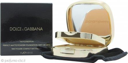 Dolce & Gabbana Perfect Matte Fondotinta in Polvere 15g - 150 Almond