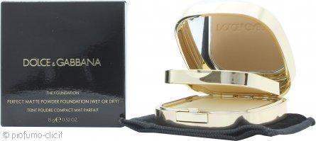 Dolce & Gabbana Perfect Matte Fondotinta in Polvere 15g - 120 Cinnamon