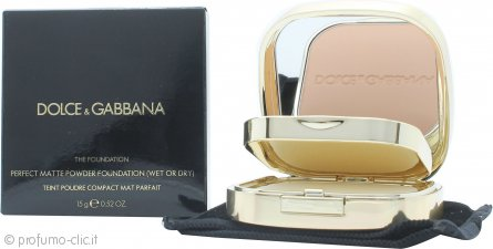 Dolce & Gabbana Perfect Matte Fondotinta in Polvere 15g - 130 Honey