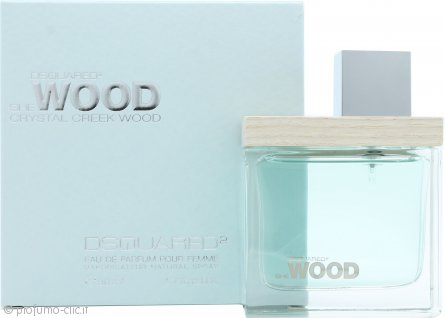 DSquared2 She Wood Crystal Creek Wood Eau de Parfum 50ml Spray