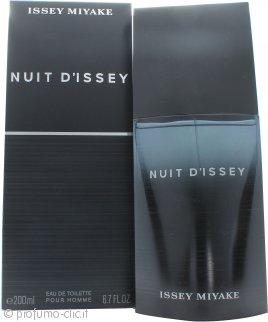 Issey Miyake Nuit d'Issey for Men Eau de Toilette 200ml Spray