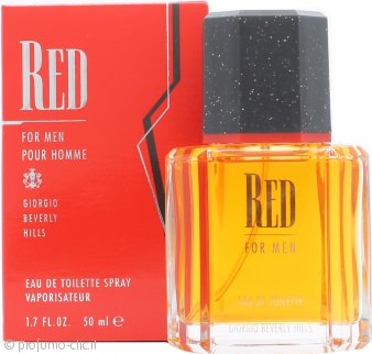 Giorgio Beverly Hills Red Eau De Toilette 50ml Spray