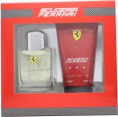 Ferrari Scuderia Ferrari Red Confezione Regalo 125ml EDT + 150ml Deodorante Spray + 150ml Shampo & Bagnoschiuma