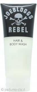 Joe Bloggs Rebel Hair & Body Wash 200ml