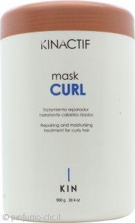 Kin Cosmetics Kinactif Maschera per Capelli Ricci 900ml