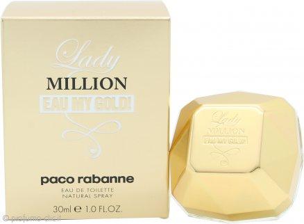 Paco Rabanne Lady Million Eau My Gold! Eau de Toilette 30ml Spray