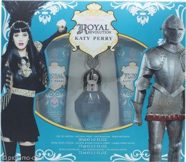 Katy Perry Royal Revolution Confezione Regalo 30ml EDP + 75ml Lozione per il Corpo + 75ml Gel Doccia