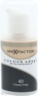Max Factor Colour Adapt Foundation 34ml - 40 Creamy Ivory