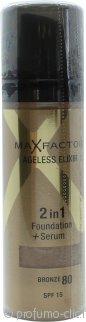 Max Factor Ageless Elixir 2 in 1 Foundation + Serum 30ml Bronze 80