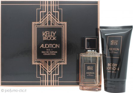 Kelly Brook Audition Confezione Regalo 100ml EDP Spray + 150ml Lozione Corpo