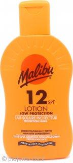 Malibu Sun Lotion SPF12 Protezione Bassa 200ml