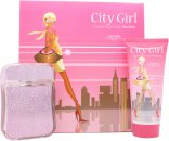 Laurelle City Girl New York Confezione Regalo 100ml EDP + 200ml Bagnoschiuma