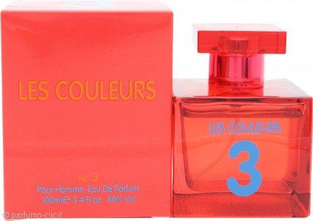 Laurelle Les Couleurs 3 Homme Eau de Parfum 100ml Spray