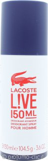 Lacoste Live Deodorante 150ml Spray