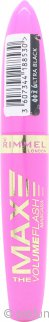 Rimmel Volume Flash The Max  Mascara Ultra Black
