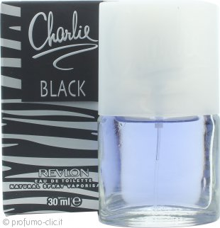 Revlon Charlie Black Eau de Toilette 30ml Spray