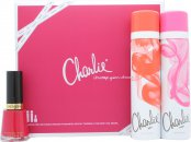 Revlon Charlie Confezione Regalo 150ml Charlie Pink Body Spray + 150ml Charlie Red Body Spray + Smalto - Cherries In The Snow