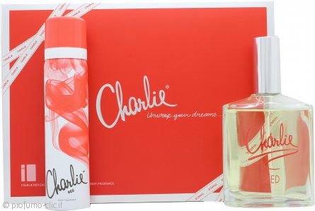 Revlon Charlie Red Eau Fraiche Confezione Regalo 100ml Eau Fraiche Spray + 75ml Body Spray