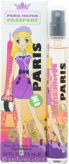 Paris Hilton Passport Paris Eau de Toilette 7.5ml Spray