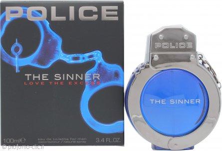 Police The Sinner Eau De Toilette 100ml Spray