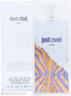 Roberto Cavalli Just Cavalli Him Eau de Toilette 60ml Spray
