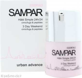 Sampar 3 Day Weekend Cimicifuga & Peptides Hint of Tan Gel 30ml