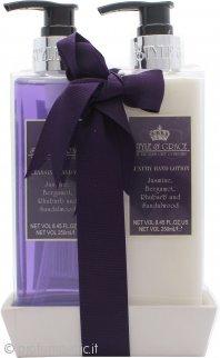 Style & Grace Luxury Handcare Confezione Regalo 250ml Sapone Mani + 250ml Lozione Mani