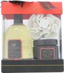 Style & Grace Decadence Irresistibly Rich Bath & Body Confezione Regalo 500ml Crema da Bagno + 170ml Burro per Corpo + Spugna a Fiore