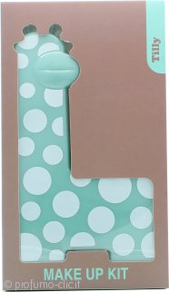 Tilly Giraffe Make-Up Kit - 18 x Ombretti + 2 x Blush + 3 x Lucidalabbra + 2 x Applicatori