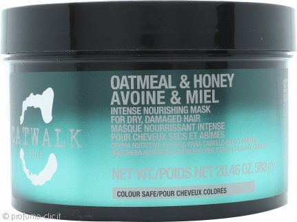 Tigi Catwalk Oatmeal & Honey Intense Nourishing Maschera 580g