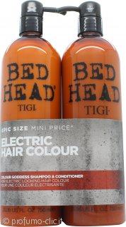 Tigi Duo Pack Bed Head Colour Goddess 750ml Shampoo + 750ml Balsamo