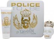 Police To Be The Queen Confezione Regalo 75ml EDT + 100ml Lozione Corpo