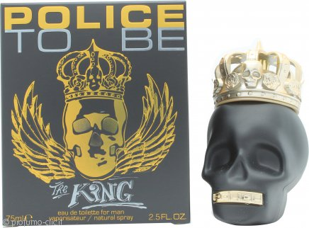Police To Be The King Eau de Toilette 75ml Spray