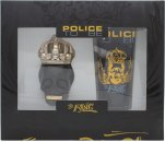Police To Be The King Confezione Regalo 40ml EDT Spray + 100ml All Over Body Shampoo