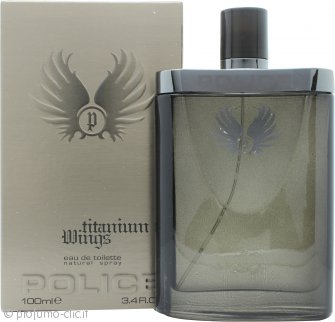 Police Titanium Wings Eau de Toilette 100ml Spray