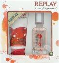 Replay For Her Confezione Regalo 20ml EDT + 50ml Gel Doccia
