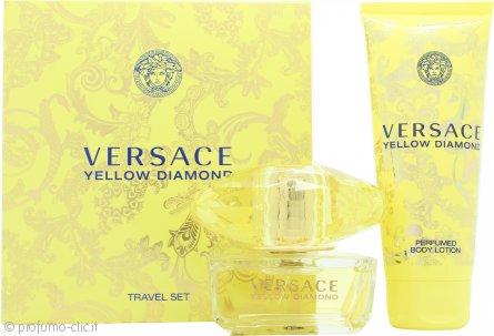 Versace Yellow Diamond Confezione Regalo 50ml EDT + 100ml Lozione Corpo