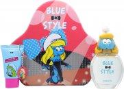 The Smurfs Smurfette Confezione Regalo 100ml EDT + 75ml Gel Doccia + Portachiavi