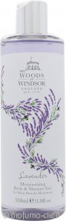 Woods of Windsor Lavender Bagnoschiuma & Gel Doccia Idratante 350ml